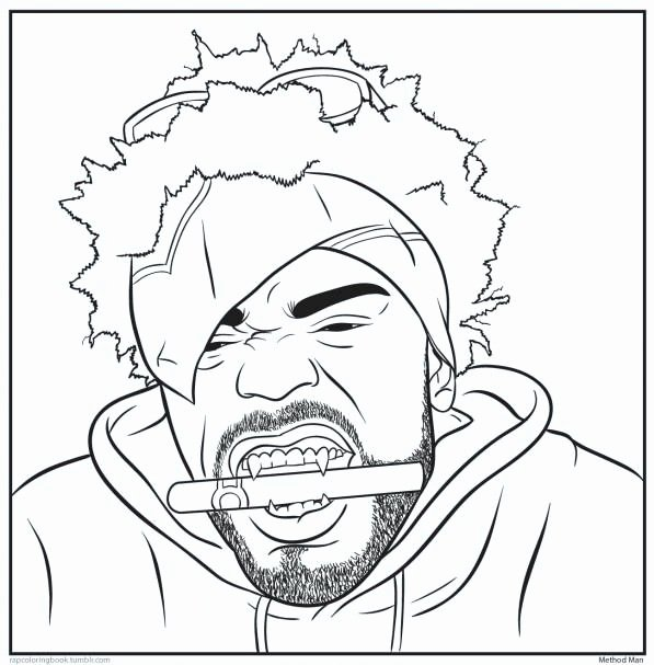 Rappers Coloring Pages Coloring Home