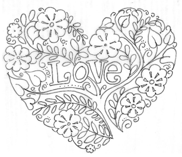 Free Pdf Printable Happy Valentines Day Coloring Pages 2020 Coloring Home
