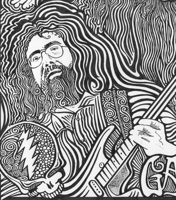 Grateful Dead Coloring Pages - Coloring Home