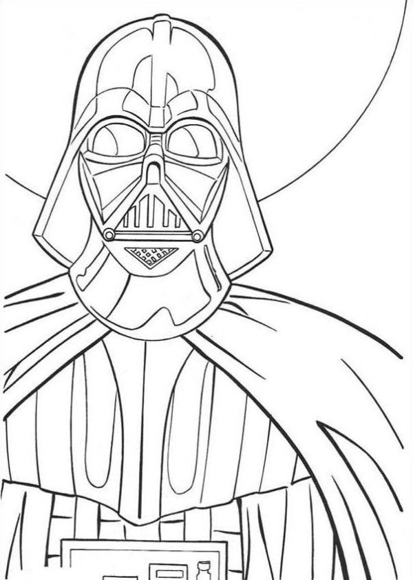 Star Wars Coloring Pages Darth Vader - Action Coloring Pages ...