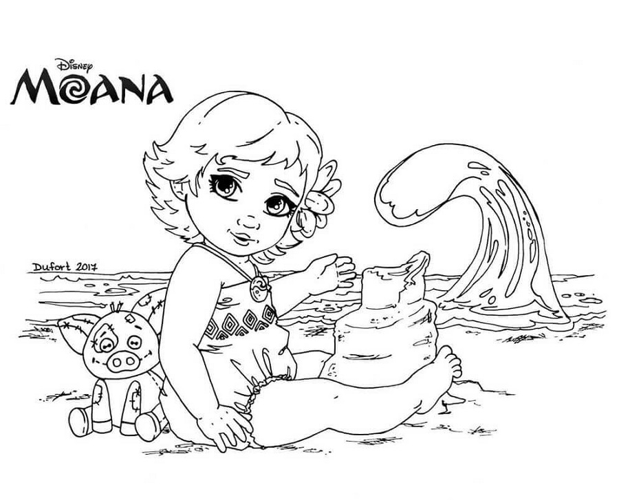 Fantastic Moana Coloring Pages | 101 Coloring