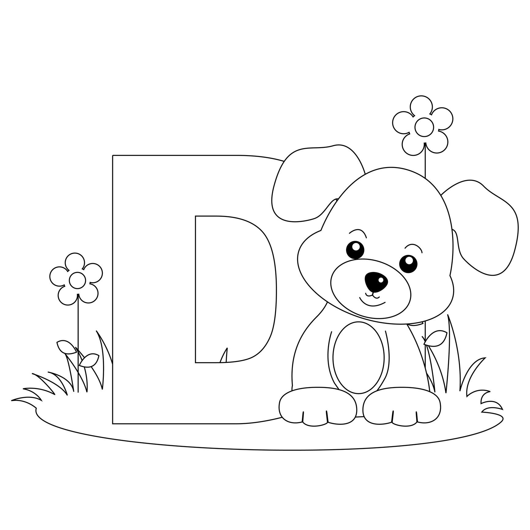 coloring pages : Alphabet Coloring Pages For Toddlers Beautiful Animal  Alphabet Letter D Is For Dog Here S A Simple Alphabet Coloring Pages for  toddlers ~ affiliateprogrambook.com