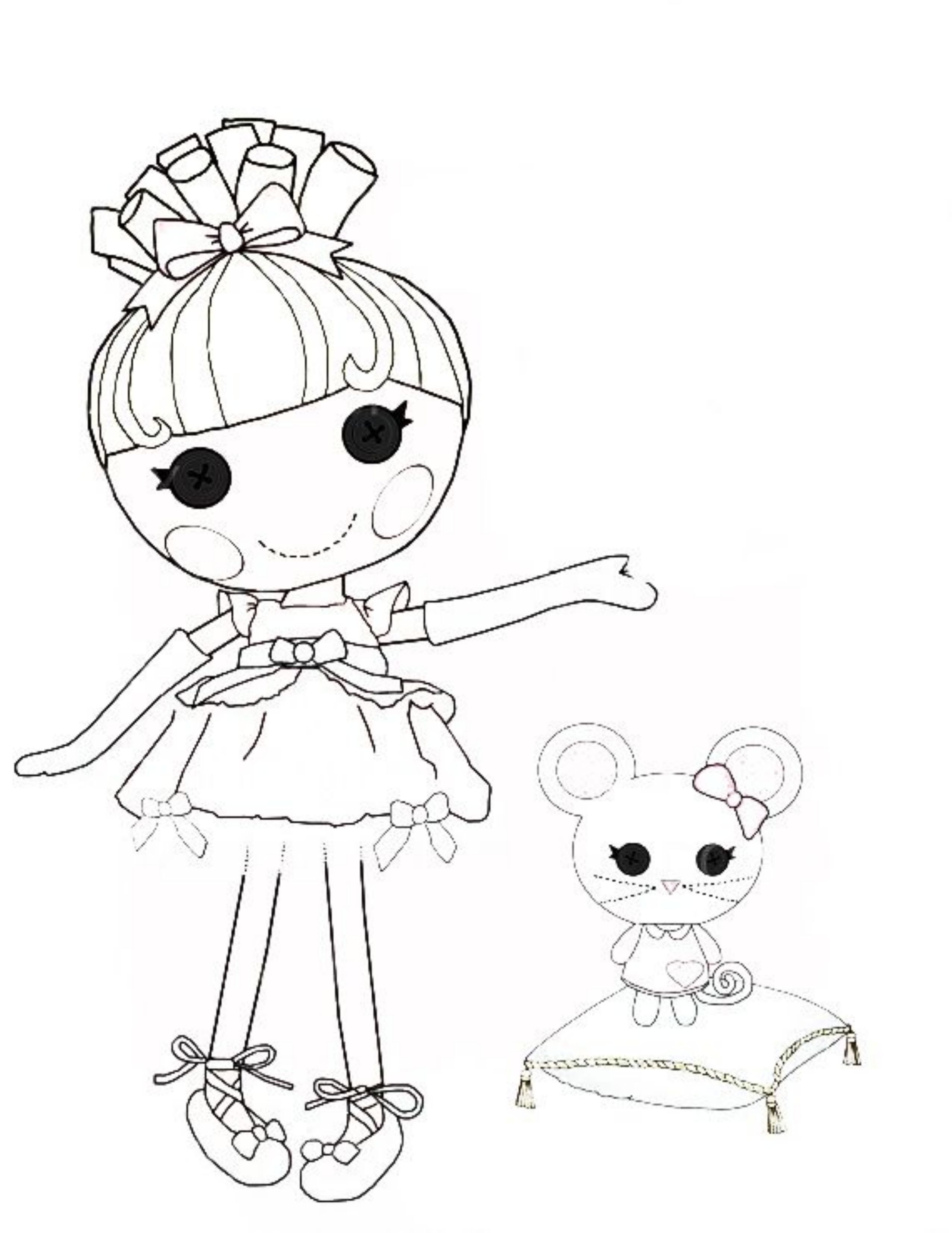 lalaloopsy coloring pages for kids - photo#9