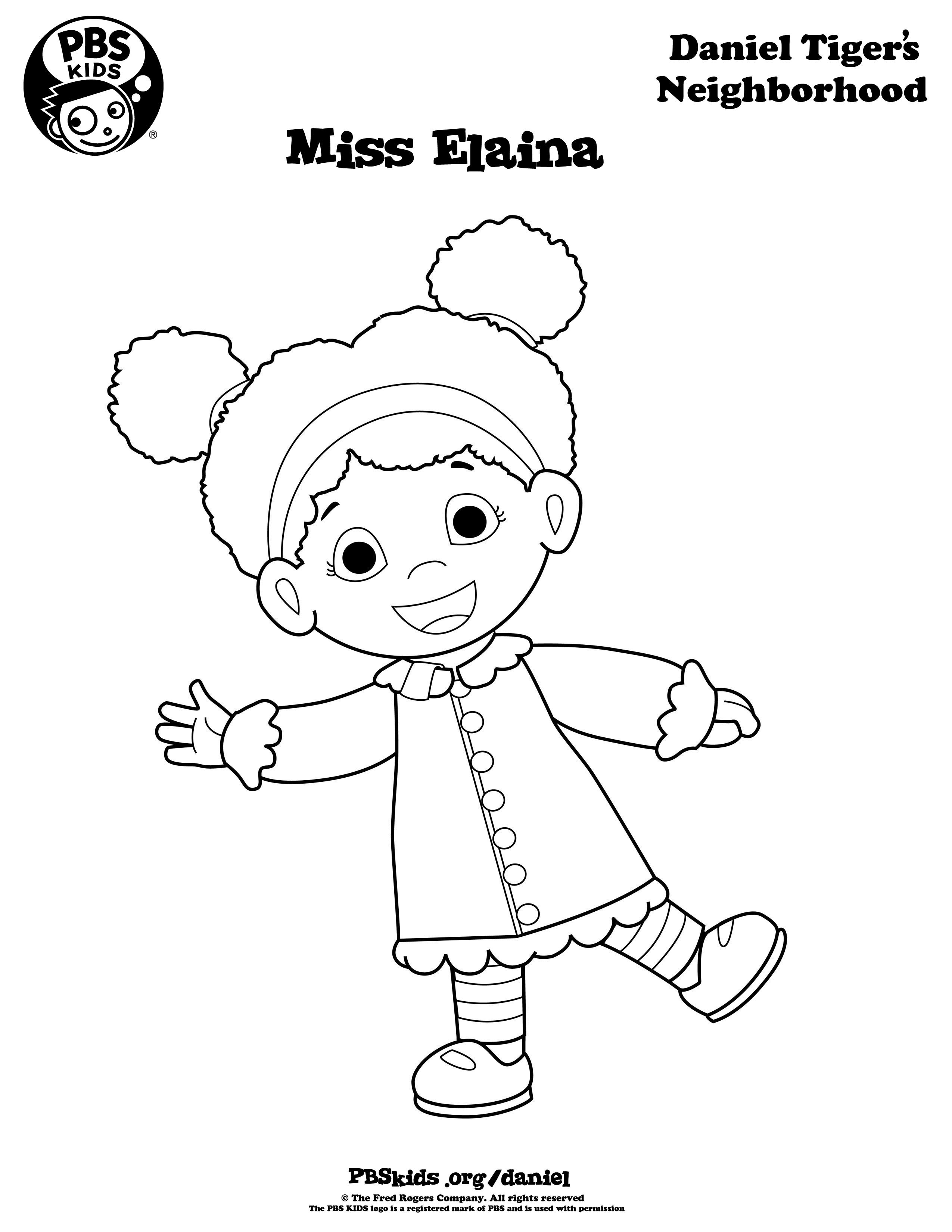 daniel tiger coloring pages printable - photo#8