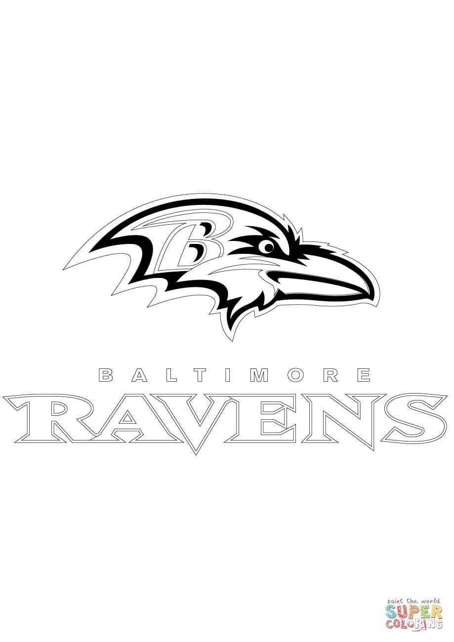 Baltimore Ravens Coloring Page Az Coloring Pages Baltimore Ravens Color Pages