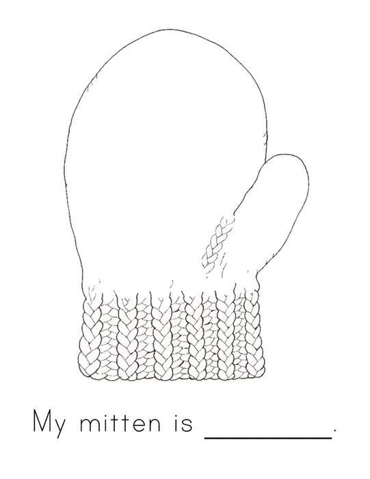 Jan Brett The Mitten Coloring Pages