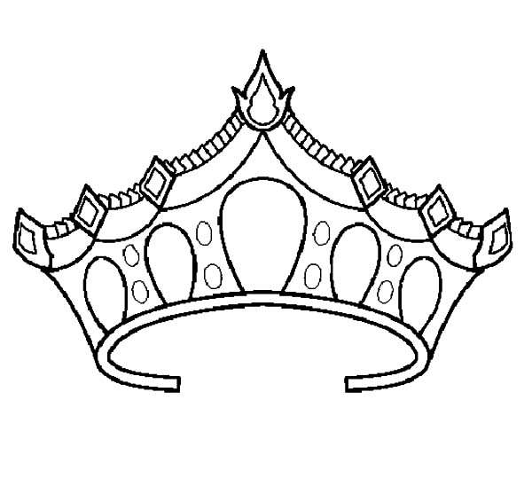 Princess Tiara Coloring Pages Az Coloring Pages Princess Crown Coloring Page