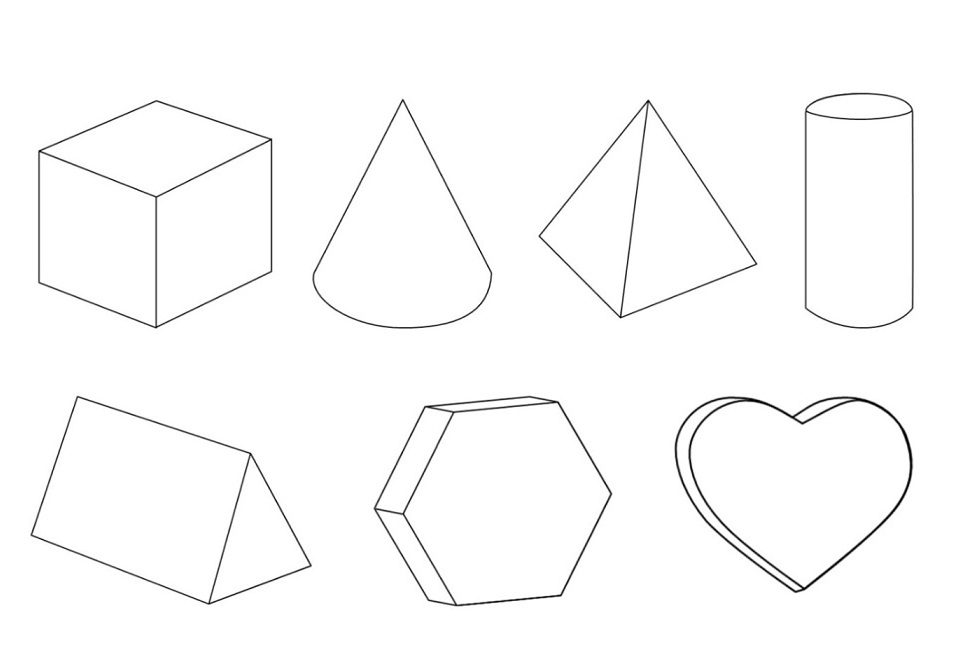 3d Coloring Pages Printable Free