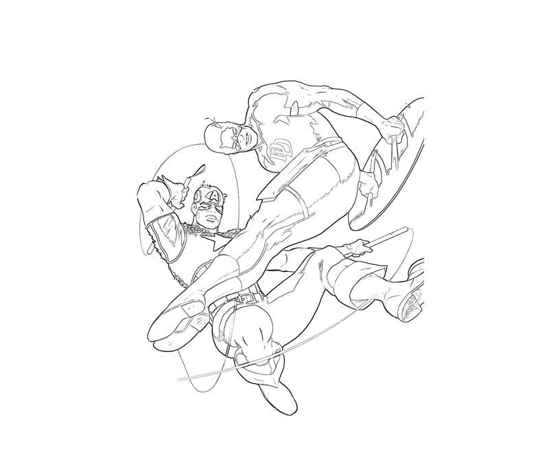 daredevil coloring pages - photo#13