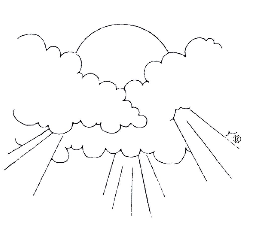 cloud coloring pages | Only Coloring Pages