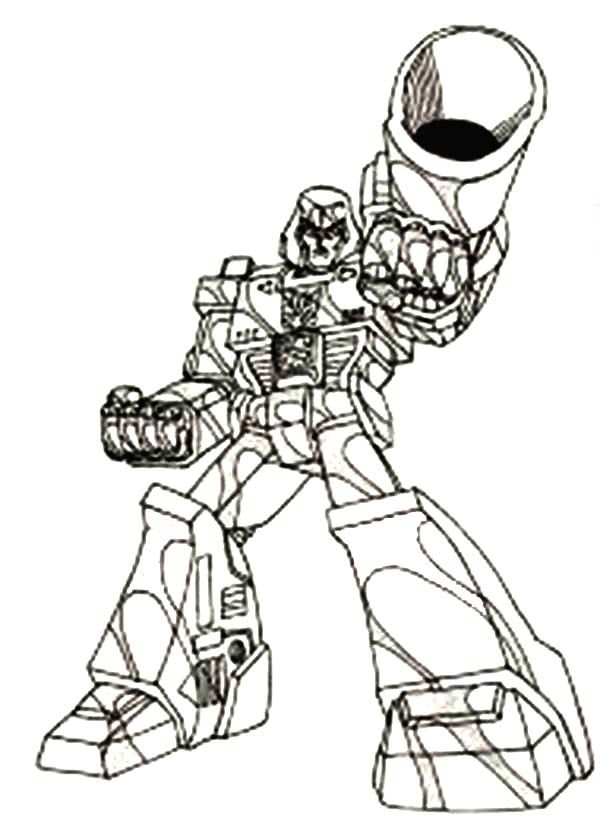 Megatron Coloring Page Coloring
