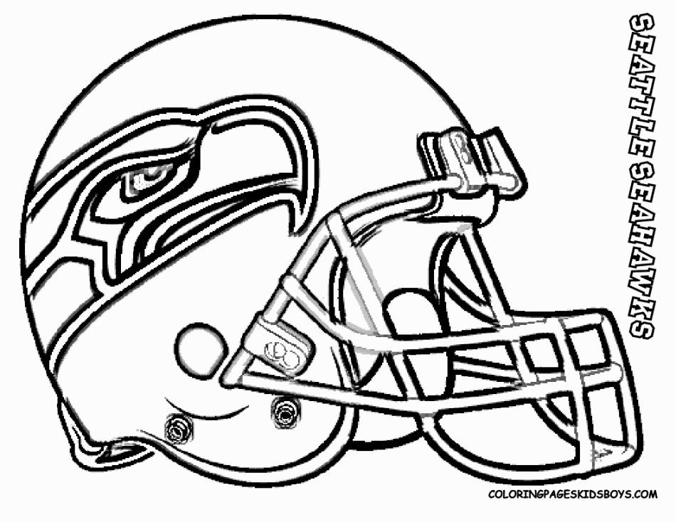 seattle seahawks helmet coloring pages - photo#2