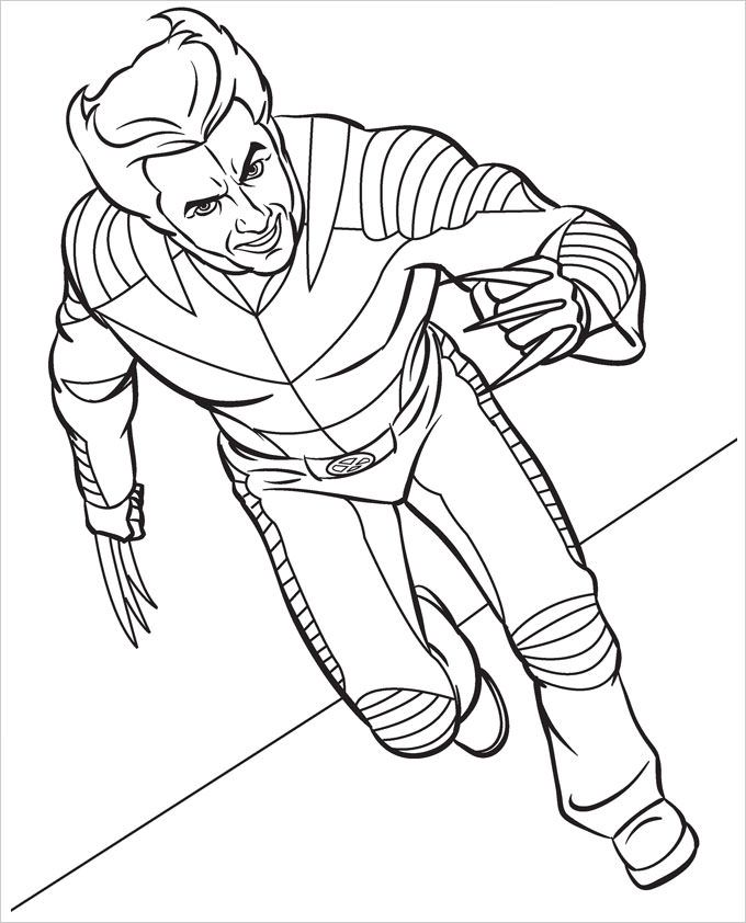 avengers coloring pages a4 - photo#18