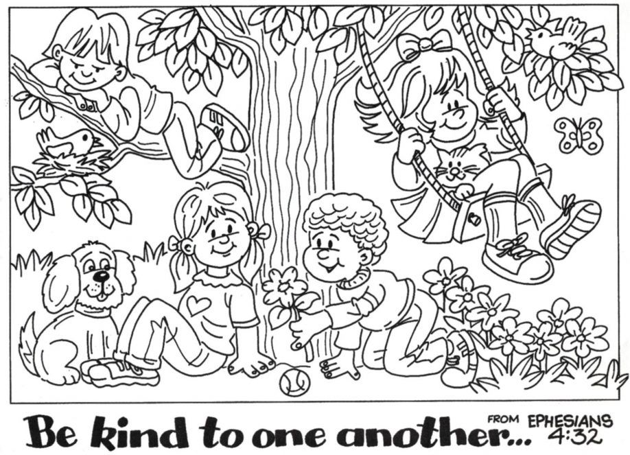 printable bible story coloring page the holy family flight into ...