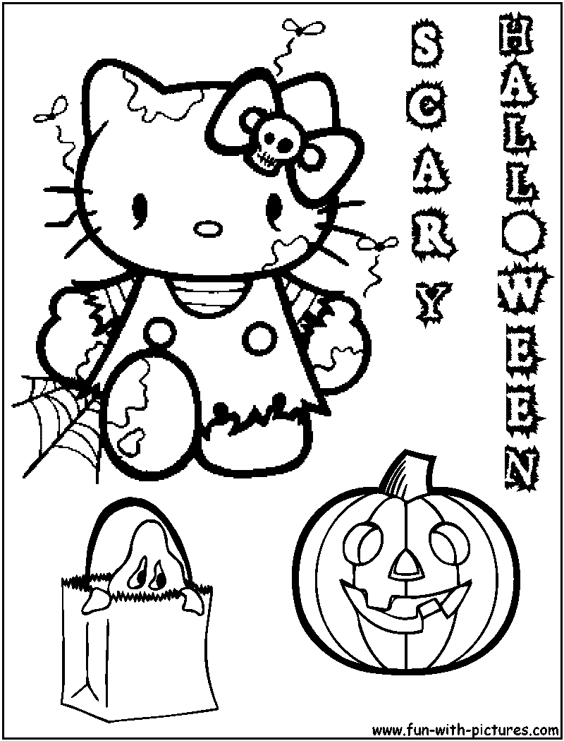 halloween coloring pages for girls coloring home