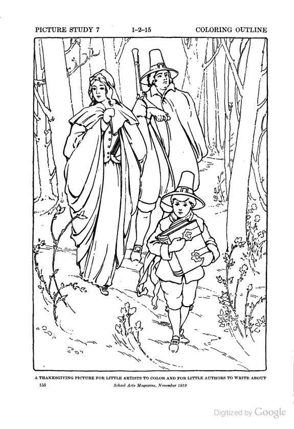Vintage coloring book pages - Margarete Miller | 838x575