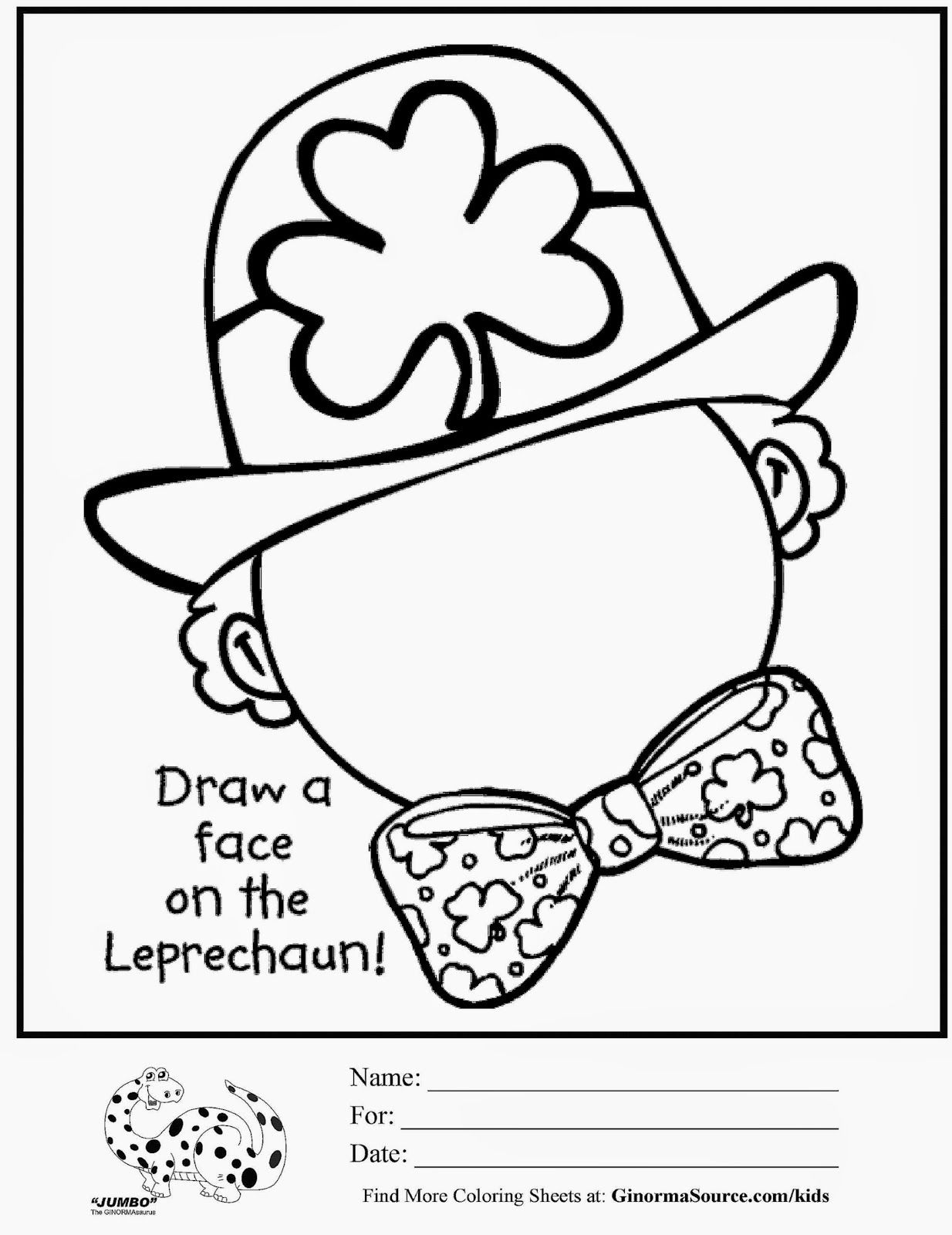 St Patricks Coloring Pages For
