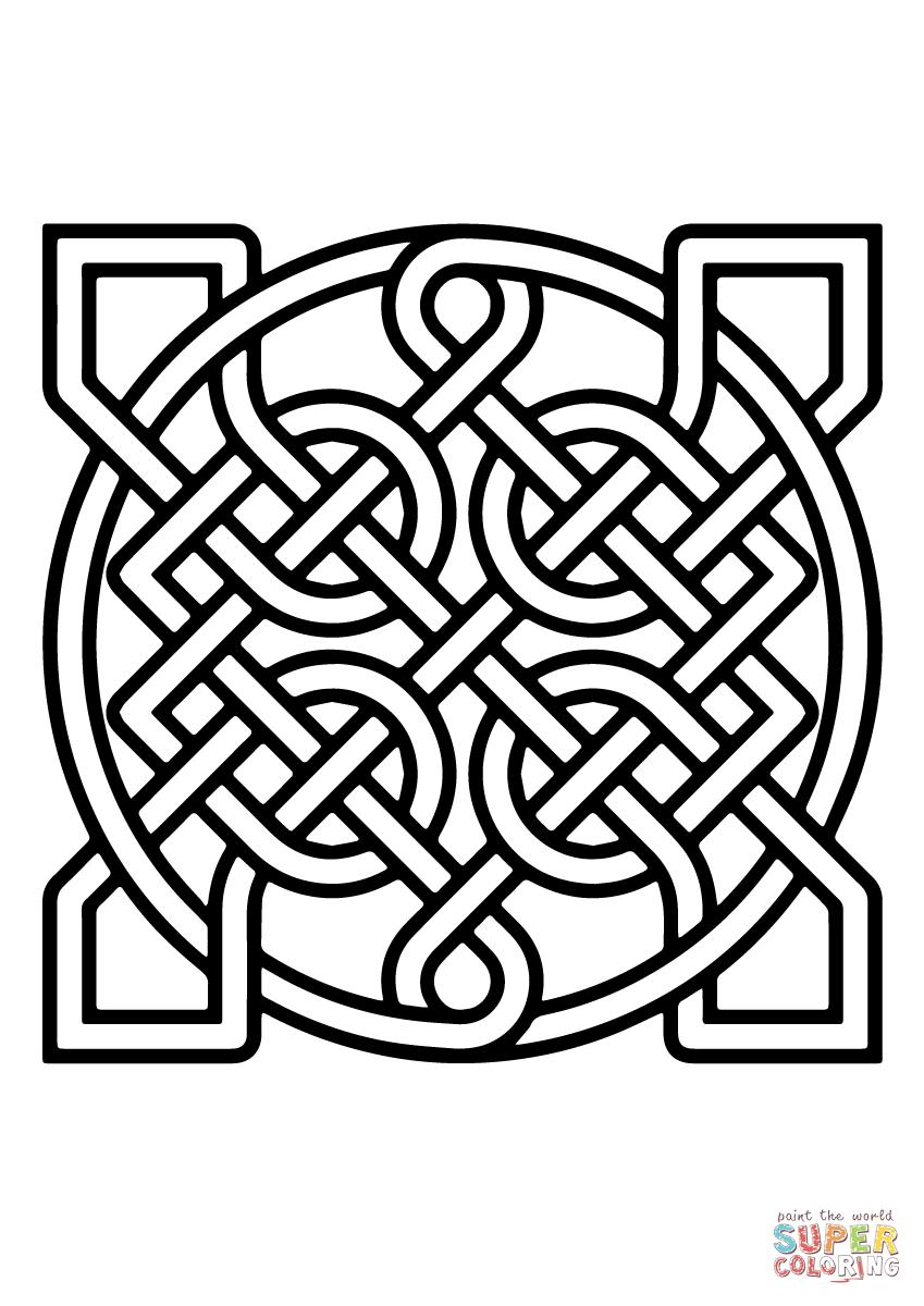 Celtic Knots Coloring Pages