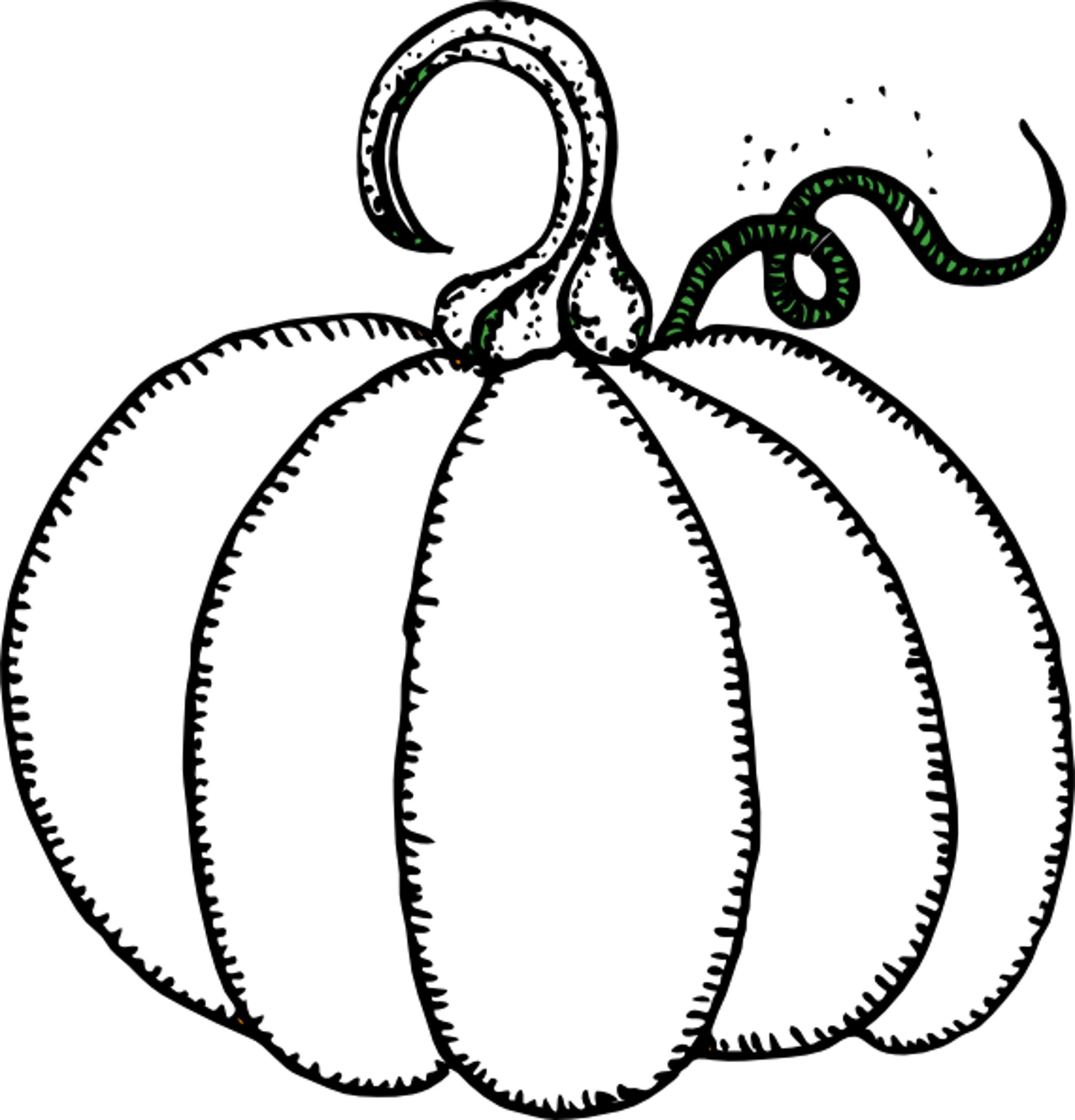 Free coloring pages for halloween and fall - Preschool Easy Fall Pumpkin Coloring Pages Printable Printable