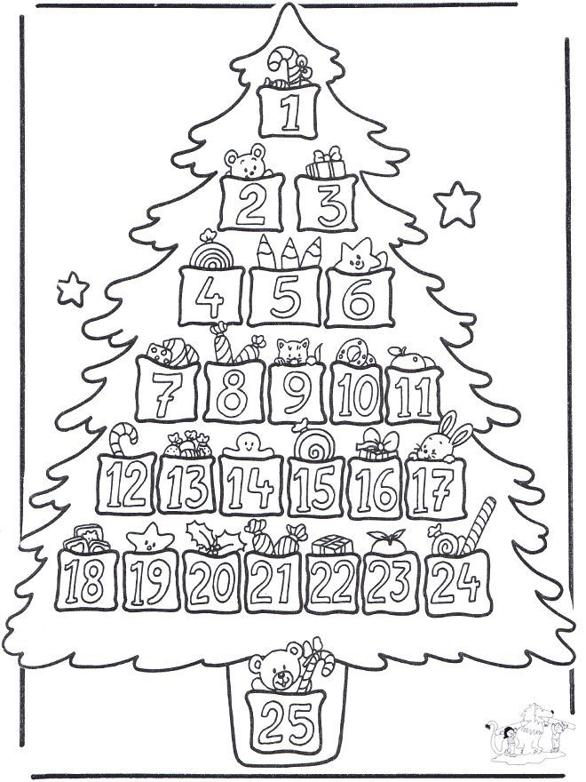 Advent Coloring Pages To Print - Coloring Home