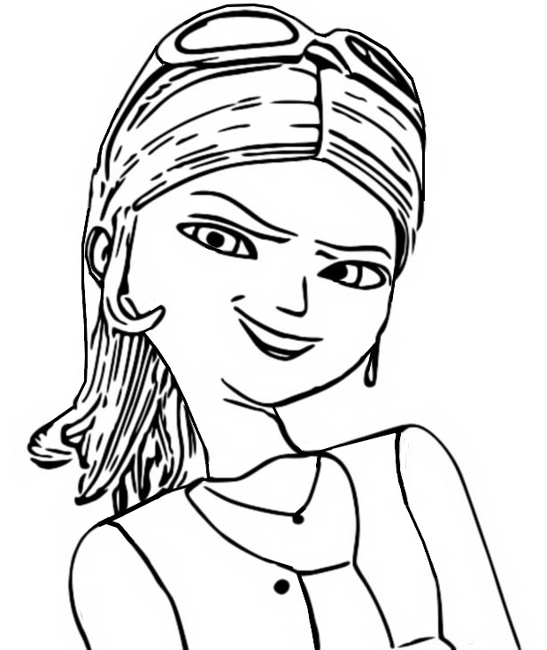 Coloring page Miraculous Ladybug : Chloé Bourgeois 13