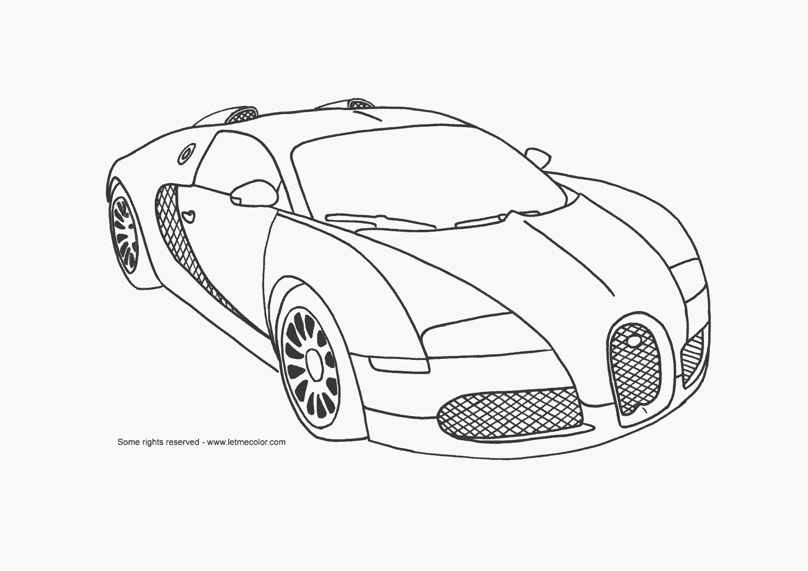 Cool Cars Coloring Pages - Coloring Page Photos