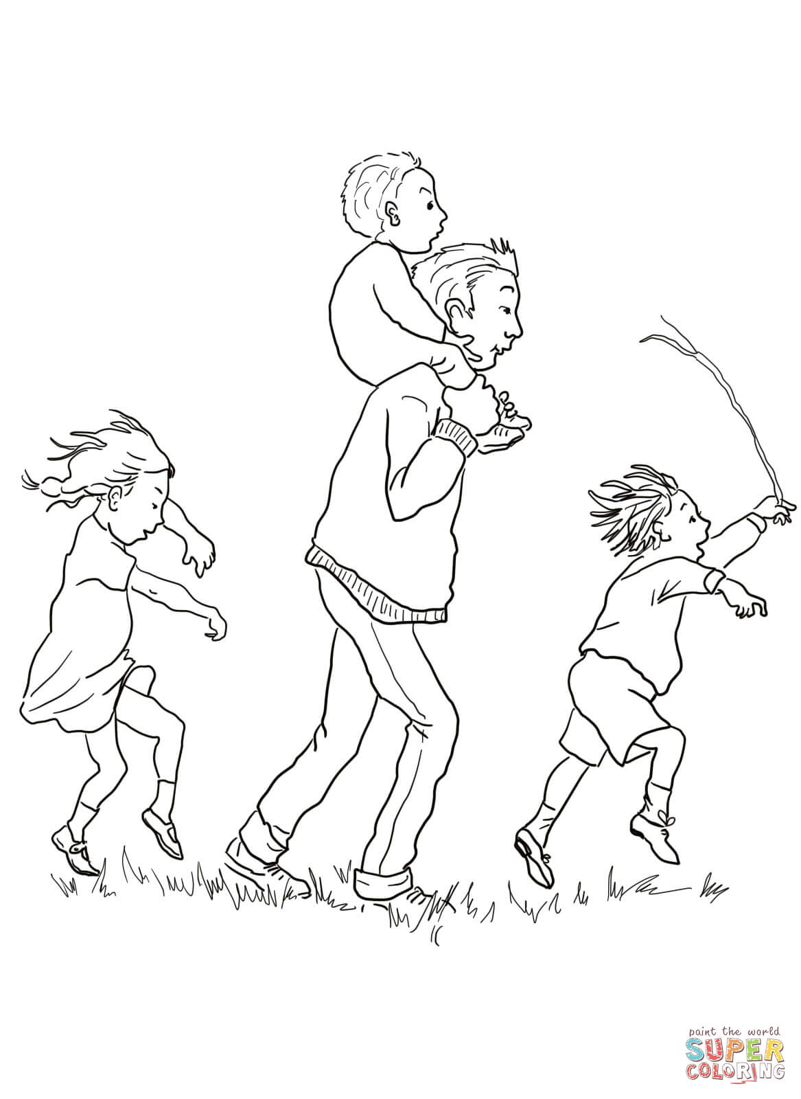 coloring pages little orphan annie - photo#14