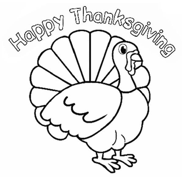 Thanksgiving Turkeys Coloring Pages - Coloring Home
