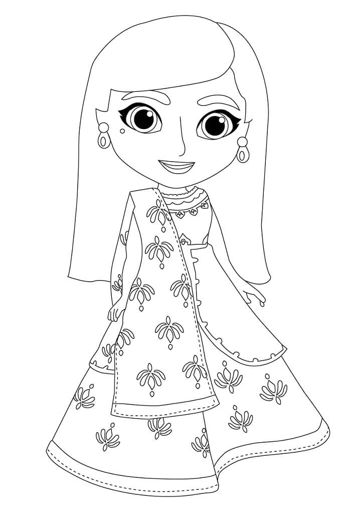 Mira, Royal Detective Coloring Pages - Free Printable Coloring Pages for  Kids