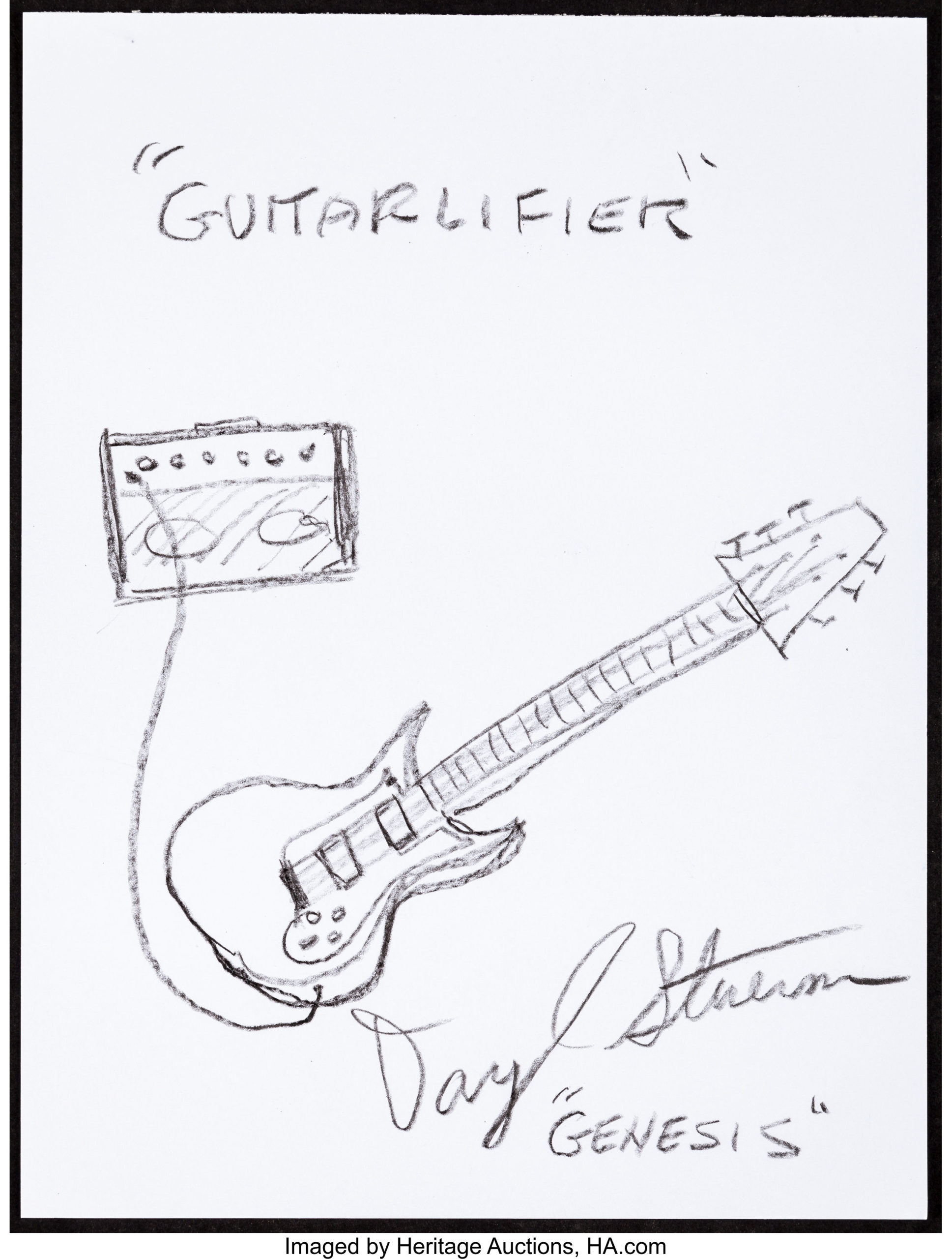 Coloring Pages : Daryl Stuermer Musician S Doodle For Hunger ...