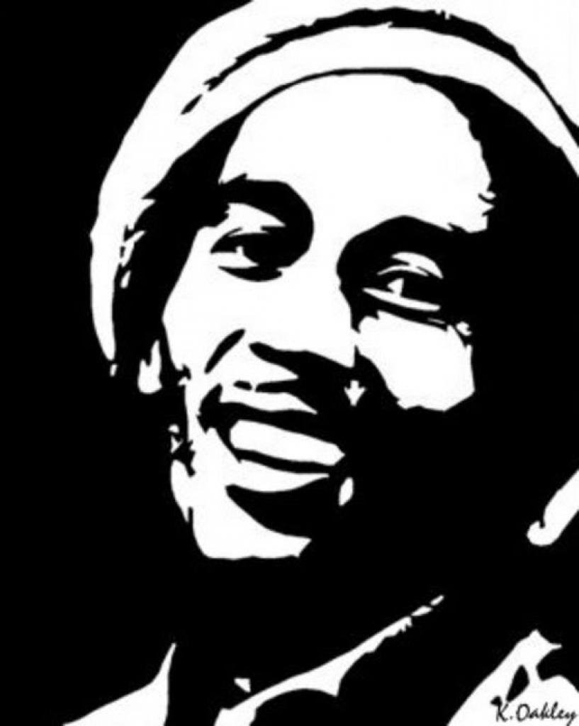 Bob Marley Coloring Page Coloring Home Coloring Bob Marley