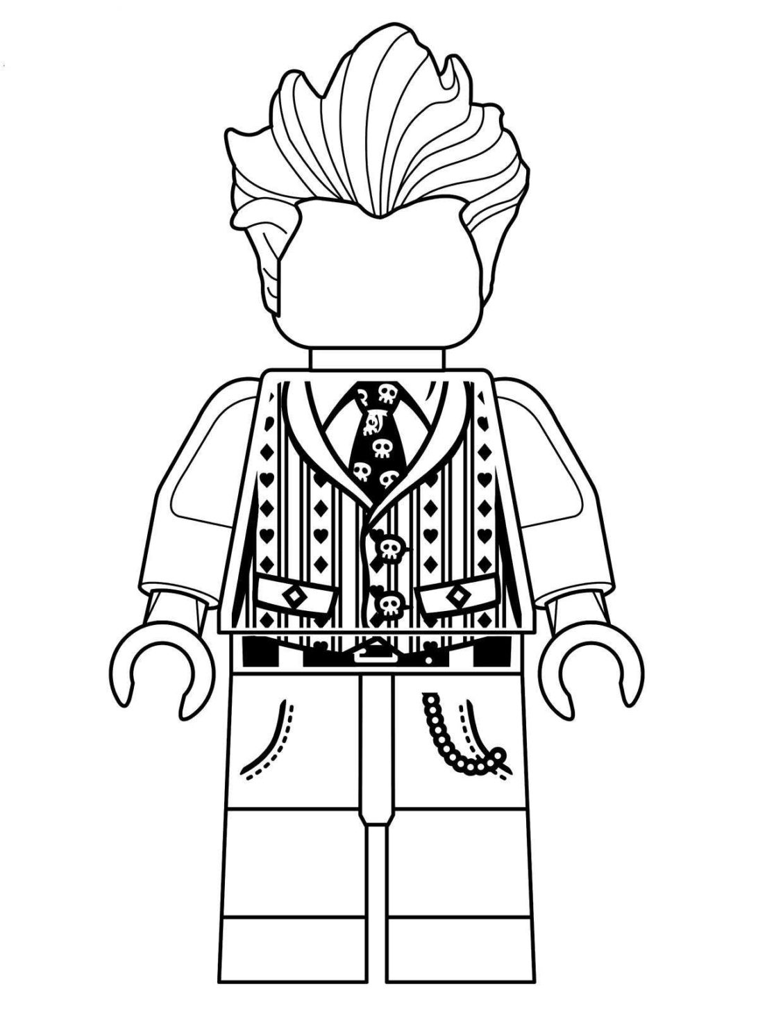 Lego Joker Coloring Pages Coloring Home