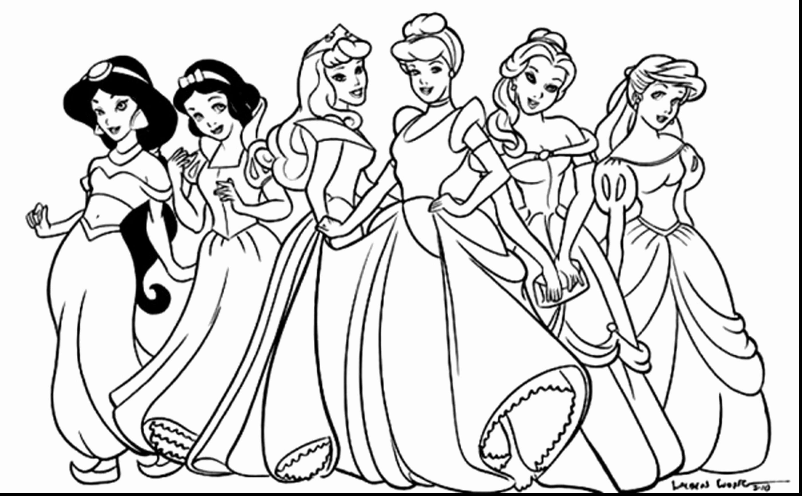 Princess Colouring Pages Pdf €� From The Thousands Of