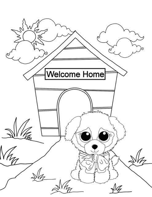 - Beanie Boo Coloring Pages - Coloring Home