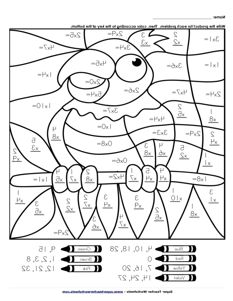 - Maths Coloring Pages - Coloring Home