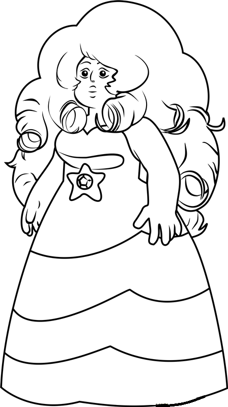 Steven-Universe-Coloring-Pages-19 - Coloring Pages For Kids