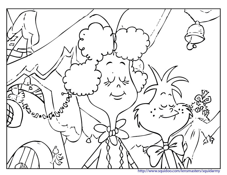 whoville coloring pages - photo#11