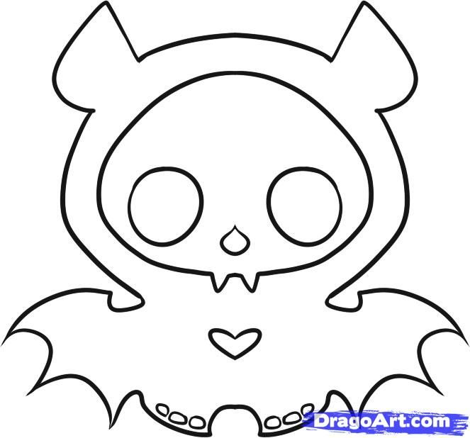 skeleanimals coloring pages - photo#5