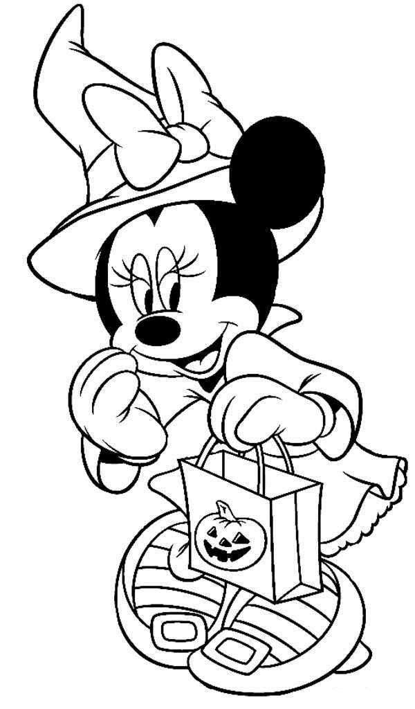 Printable Disney Halloween Coloring Pages Free Elegant