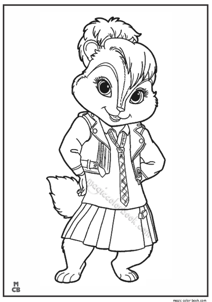 Free Printable Coloring Pages Alvin And The Chipmunks