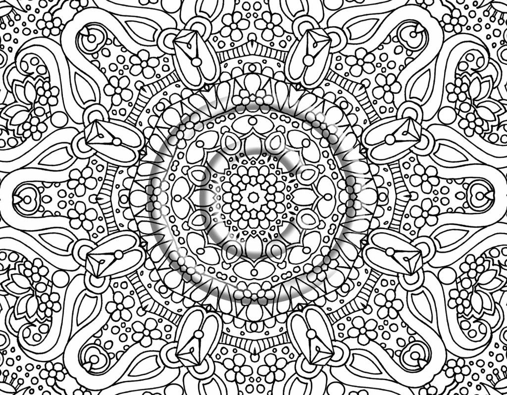 Really Hard Color Number Coloring Pages 13303