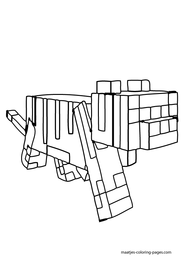 13 Pics Of Minecraft Horse Coloring Pages In Color ...
