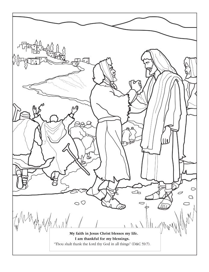 ten lepers coloring page coloring home ten lepers coloring page coloring home