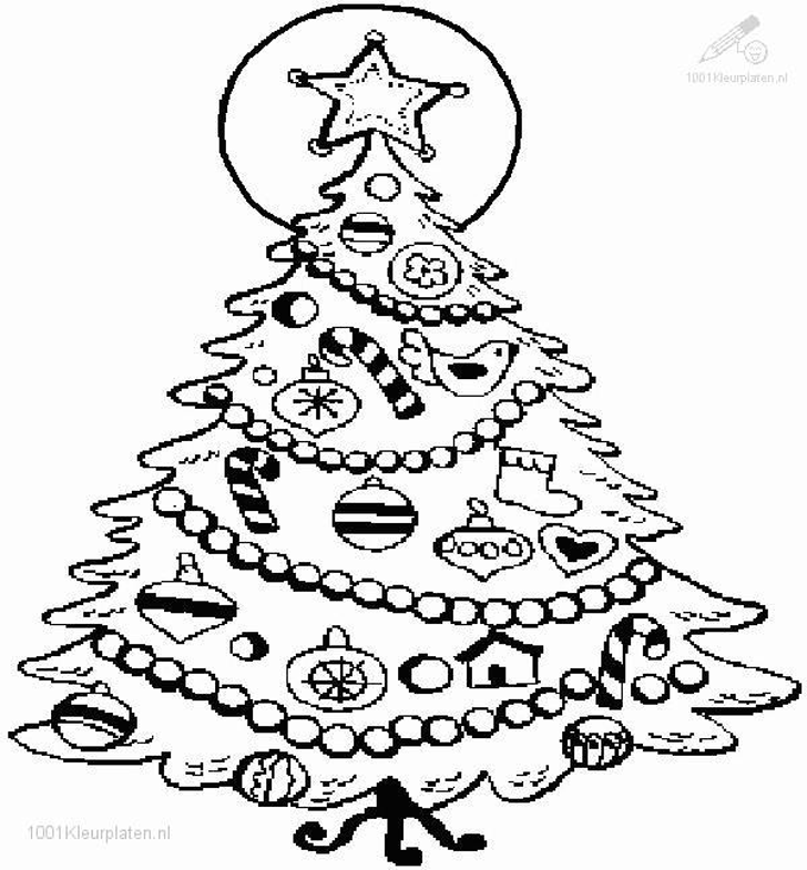 printable christmas tree coloring pages for children. pinkie pie ...