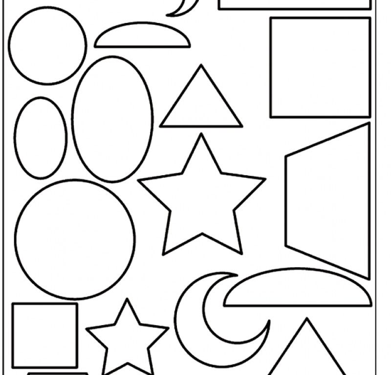 Shapes Coloring Pages Printable - HD Printable Coloring Pages ...