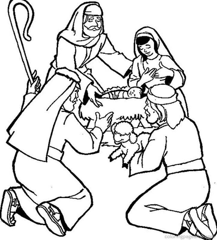 Coloring Pages For Bible Stories