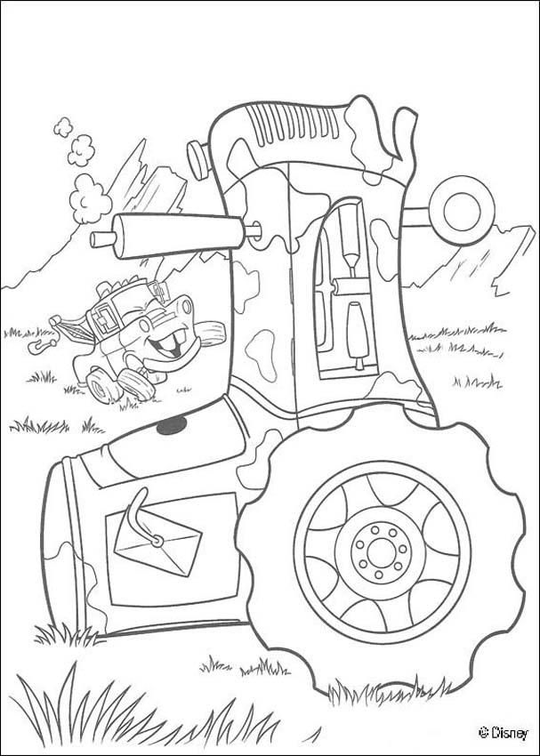 Lightning Mcqueen Printable Coloring