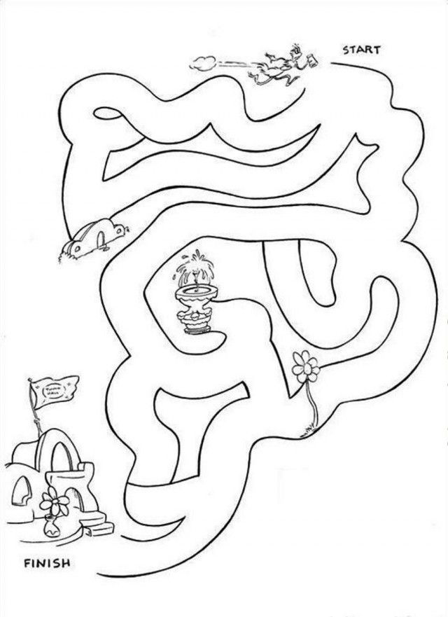 coloring pages of dr seuss - photo#32