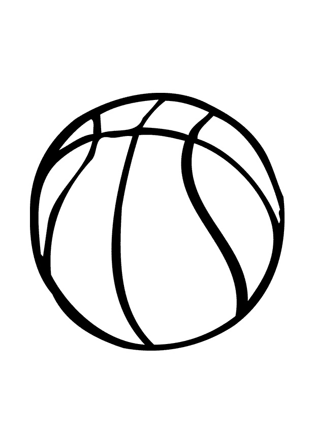 Coloring Pages For Basketball : Basketball coloring pages for kids az