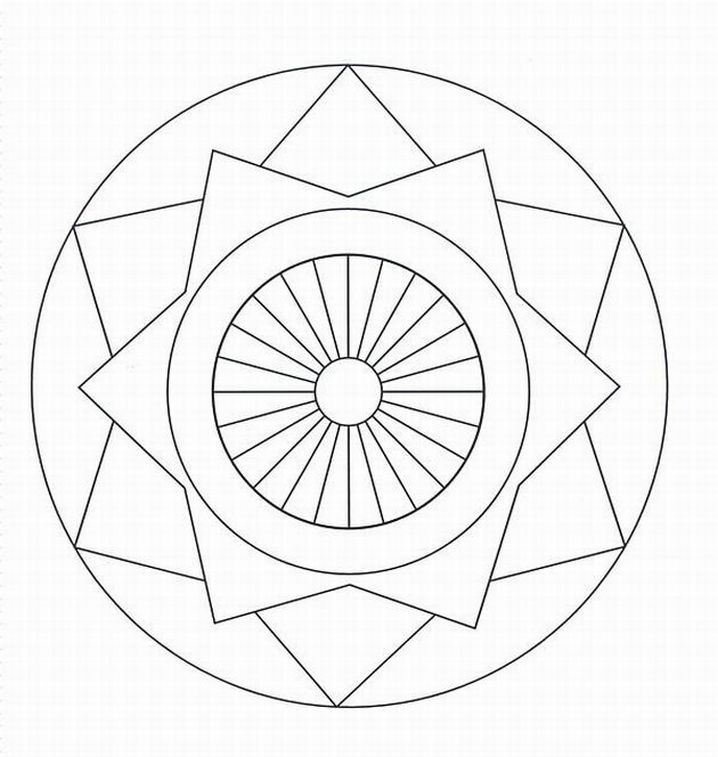free coloring pages of mandalas - photo#8